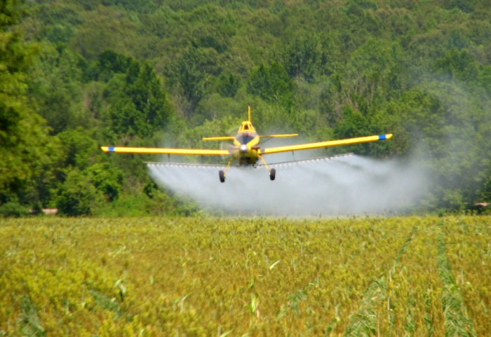 Crop duster (photo credit: Roger Smith/Creative Commons)